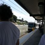 At the Metro...