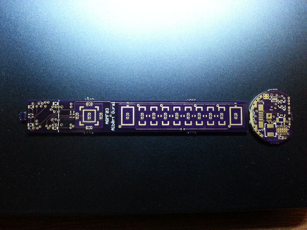 Board from OshPark.  Looks good to me.