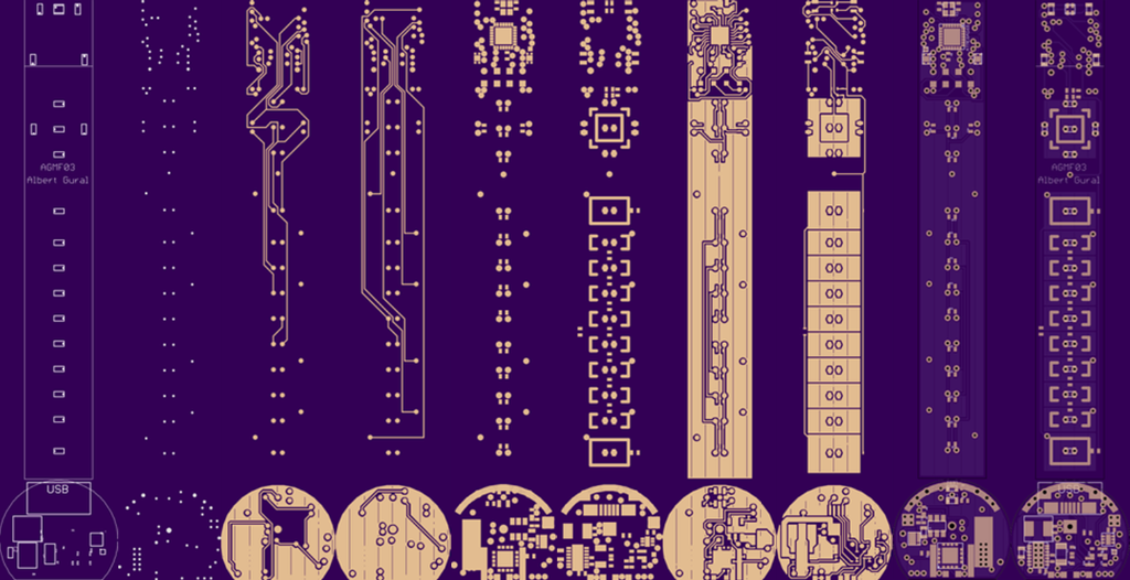 I used OshPark, since they provide 4-layer board services for small batch orders for a reasonable price.