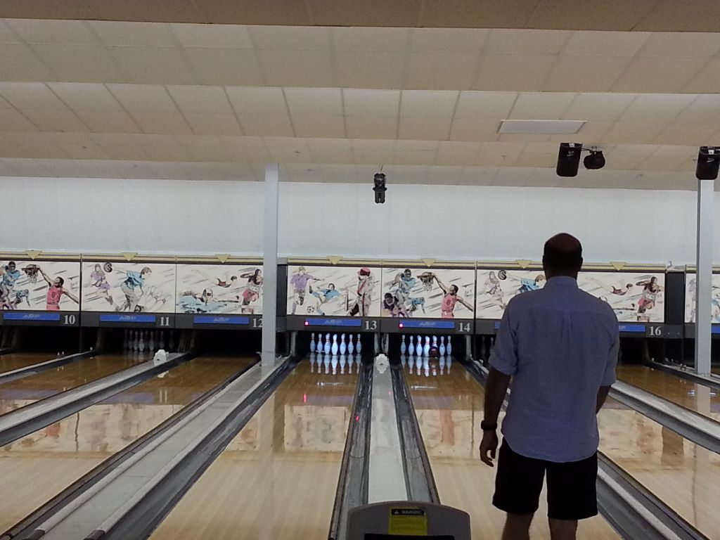 My mentor really liked bowling.